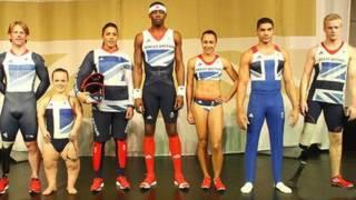 英國奧運隊的米字旗隊服