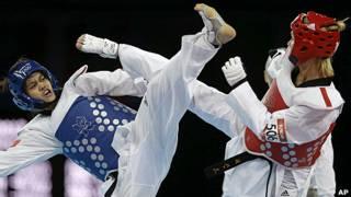 Diệu Linh thi đấu tại Olympics