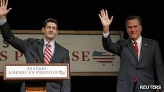 Paul Ryan e Mitt Romney (Reuters)