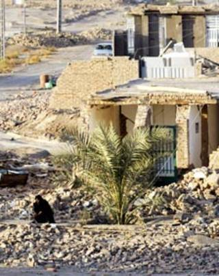 ایران زلزلہ فائل فوٹو