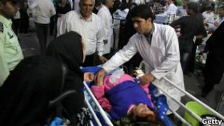 ضحايا الزلزال في إيران