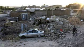 الزلزال - ايران- انقطاع - الكهرباء