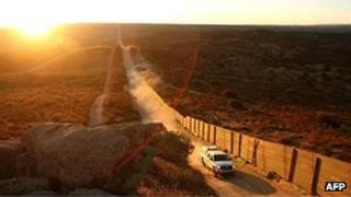 الولايات المتحدة، تهريب، الحدود، المكسيك