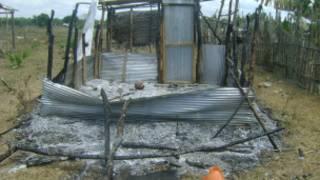 Burnt mosque in Irunooruvil