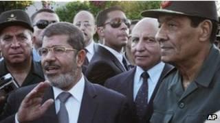 مرسي،طنطاوي