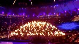 奧運火炬解散分發