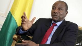 Shugaba Alpha Conde na Guinea
