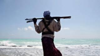 Wani dan fashin teku a kasar Somalia