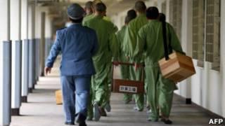 presos no Japão