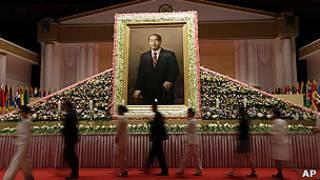 Похороны Мун Сон Мёна