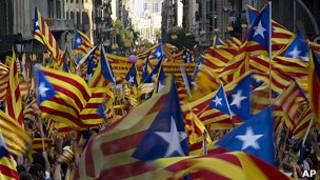 Banderas catalanas