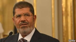 Le président égyptien Mohamed Morsi