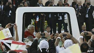 Папа Римский в Бейруте