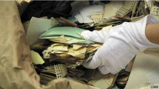 Documentos de la Stasi