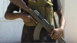 Combatiente libio