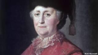 Екатерина II (портрет кисти Матвея Шибанова)