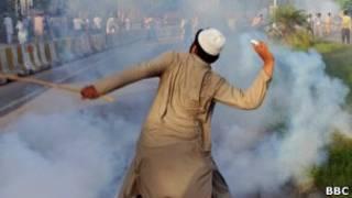 Демонстрация в Исламабаде