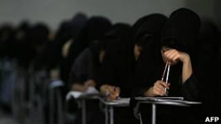 Estudiantes en Irán