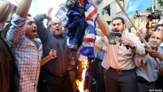 अमरीकी फिल्म के विरोध में ईरान में विरोध-प्रदर्शन