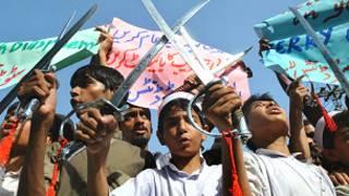 पाकिस्तान में विरोध (फ़ाइल फ़ोटो)