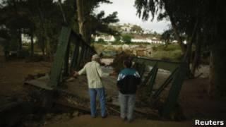 Последствия наводнений на юге Испании
