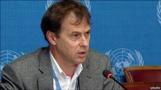 Rupert Colvillem, portavoz de OHCHR