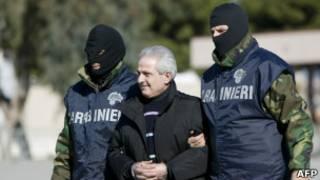 Арест Паскуале Конделло в Калабрии