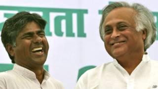 जयराम रमेश और राजगोपाल पीवी