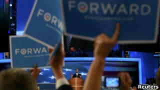 Предвыборный плакат Обамы