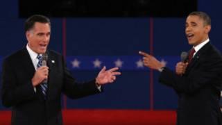 ओबामा और रोमनी