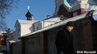Монастырь в Карелии