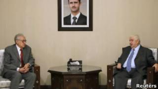 Лахдар Брахими ведет переговоры в Сирии