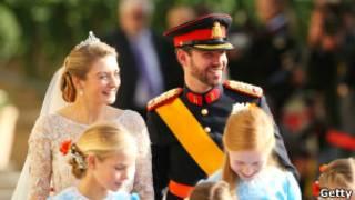 В ходе свадебной церемонии в Люксембурге