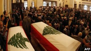 obsèques du général Hassan dans la mosquée Amine