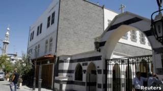 Церковь в Сирии