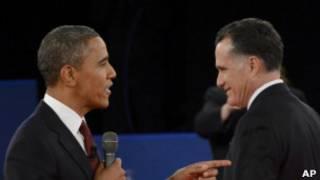Теледебаты Барака Обамы и Митта Ромни