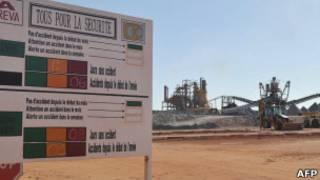 Mina de uranio de Arlit en Níger