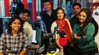 'ग्लोबल इंडिया' की टीम