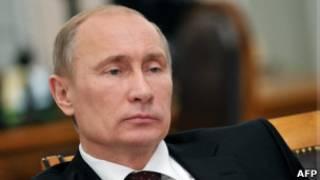 Владимир Путин в Ново-Огарево 31 октября 2012 года