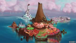 Sugar Rush, un mundo de caramelo / Dibujos conceptuales
