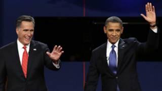 रोमनी और ओबामा