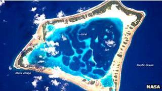 Atolón Atafu en Tokelau