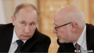 Путин и Федотов
