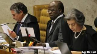 juízes do STF | Agência Brasil
