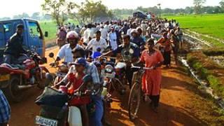 War displaced in Sri Lanka