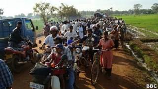 Мирные жители Шри-Ланки