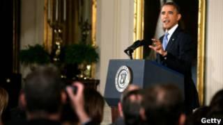 Пресс-конференция Обамы