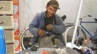 Таджикский сапожник