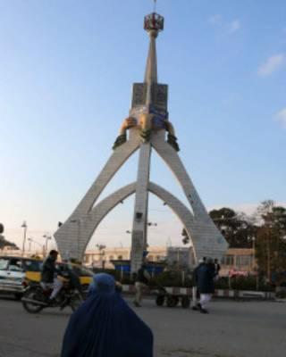 منار جهاد در مرکز شهر هرات