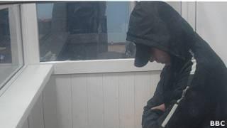 Казахстанский пограничник Владислав Челах, осужденый за убийство сослуживцев